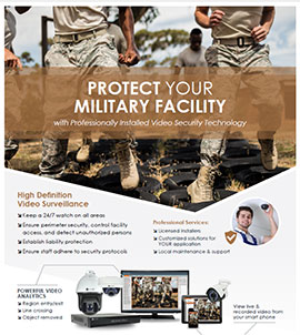 Military Facility Security Solutions